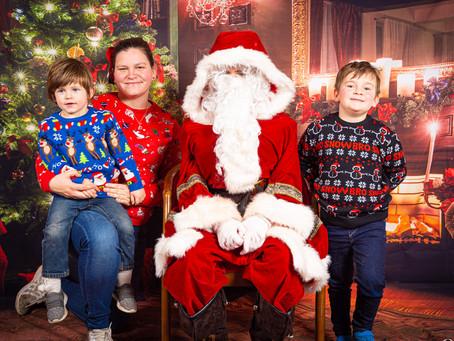 Santa visited St Mellons Hotel!