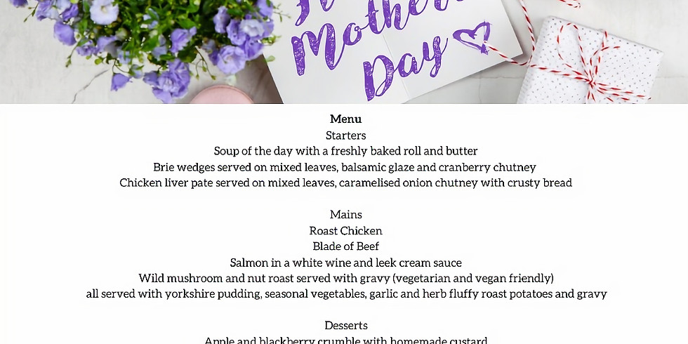 Mother's Day Lunch (Sold Out)