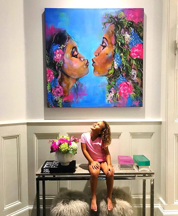 commission painting by Alejandra Estefania