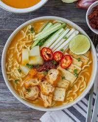 Vegetarian Mee Rebus by Woon.heng
