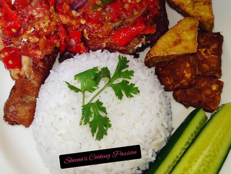 Ayam Penyet with Sheena