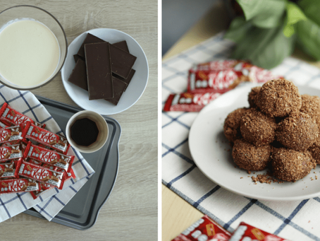 Easy, no-bake Chocochino truffles