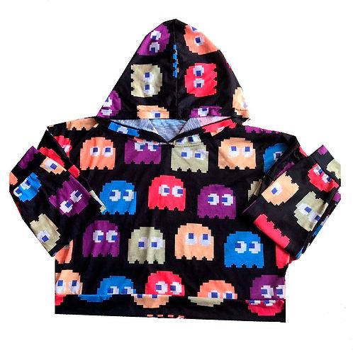 AJ Activewear Pac-Man Ghost Hoody