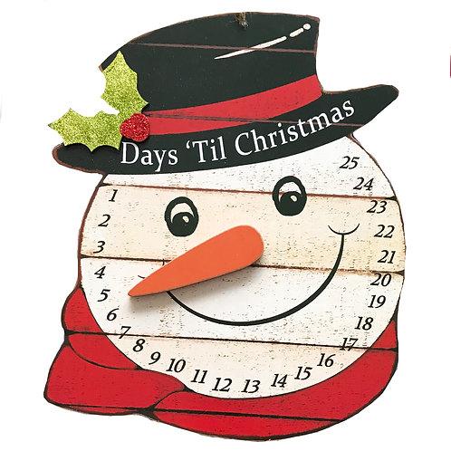 XMas Snowman Countdown ADVENT