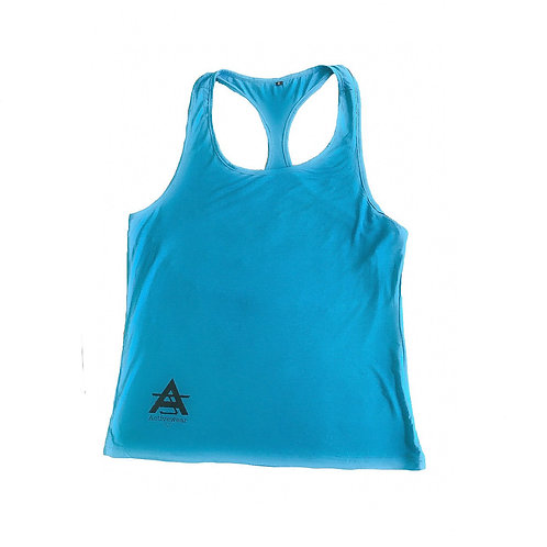 AJ Activewear Blue Vest