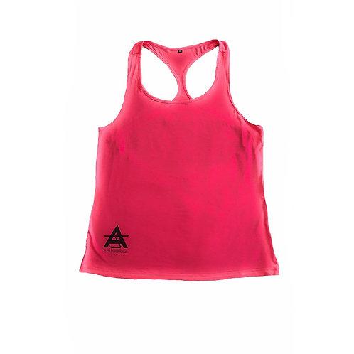 AJ Activewear Pink Vest