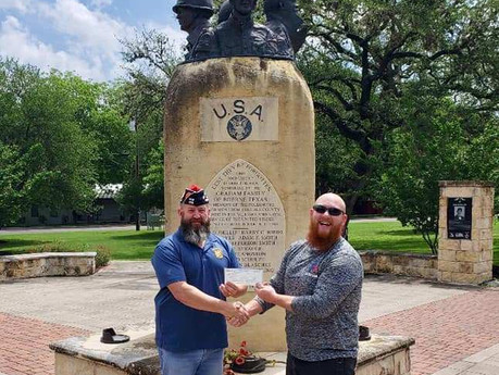 Lone Star Lawn's Donates to Post 688