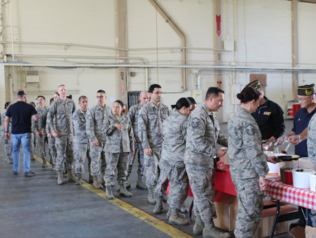 VFW Post 688 Adopted 433rd Medical Squadron – Lackland AFB, TX