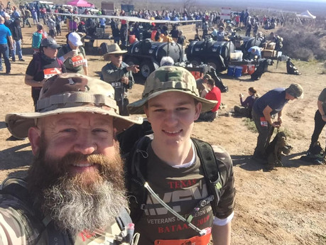 VFW Post 688 Represented at the Annual Bataan Death March