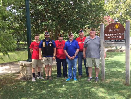 August 11, 2017 VFW Post 688 Boerne River Road Park