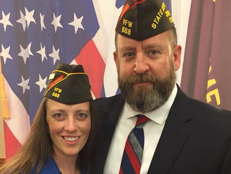 VFW Post 688 Commander Andrew Camplenappointed State Deputy Inspector