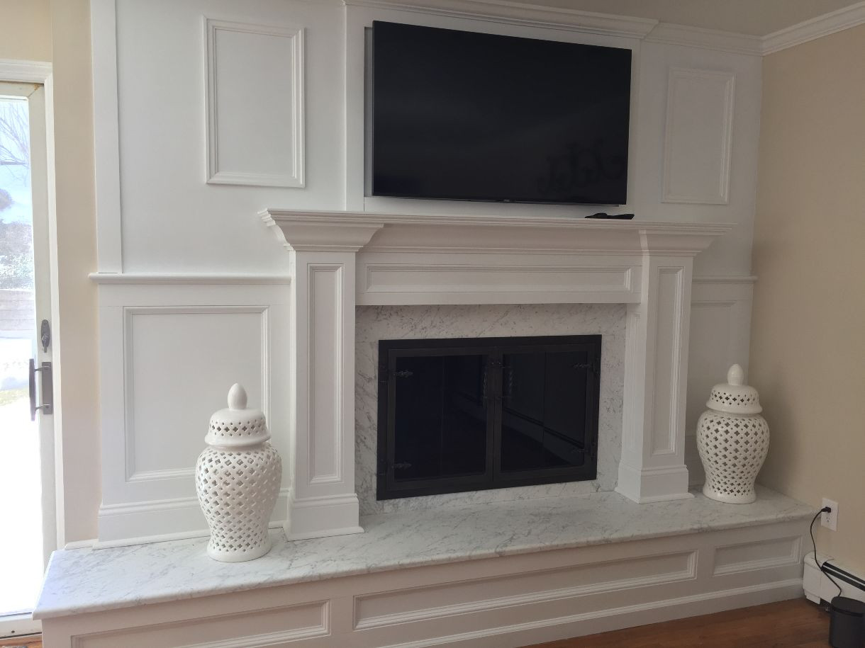 White Carrara fireplace.jpg