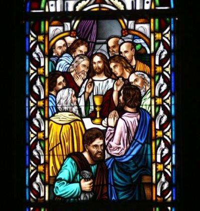 Judas at the Last Supper