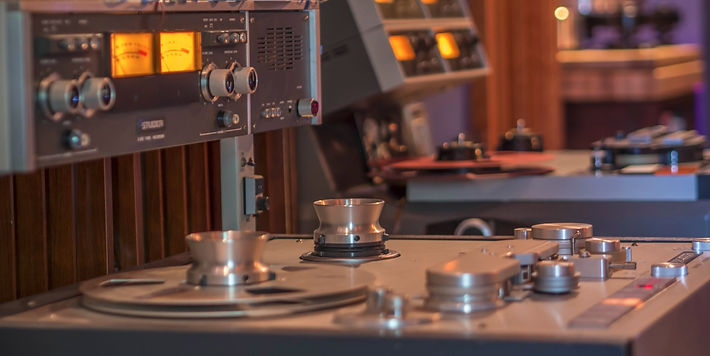 Studer A80 Tape machines at Marsh Mastering
