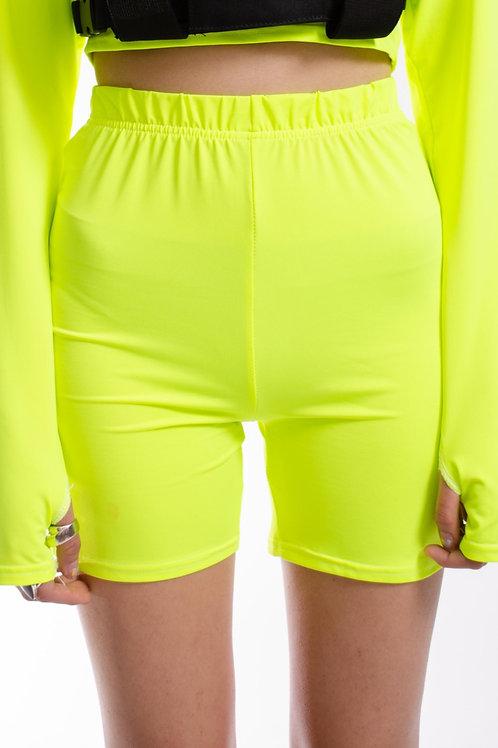 Slime Biker Shorts