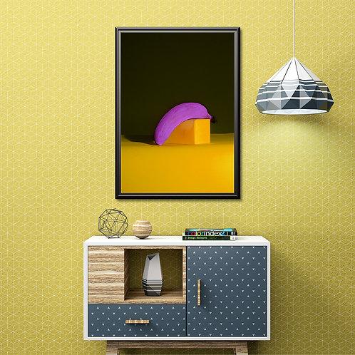 Bend Your Banana Over Wall Art Framed