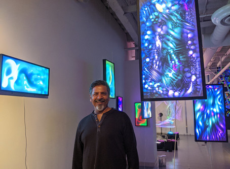 New Jersey City University Galleries presents Q&A with the Artist Sunil Garg