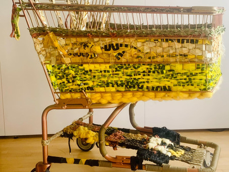 Weave Weird Baggage Carts with Theda Sandiford