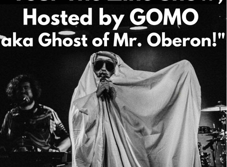 SMUSH Gallery Presents Tour The Zine Show, Hosted by GOMO aka Ghost of Mr. Oberon