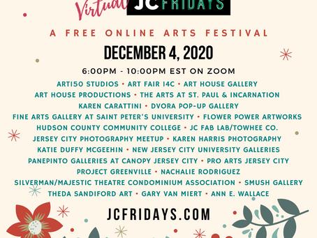 BroadwayWorld NJ: Art House Productions Announces Lineup For Virtual JC Fridays On December 4