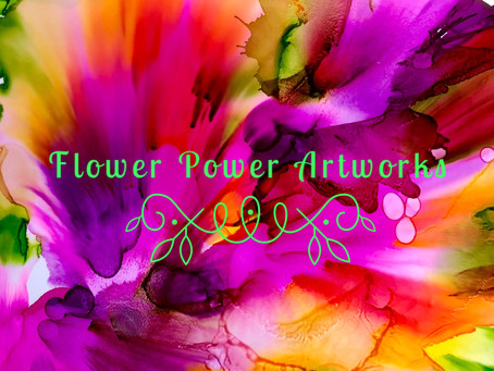 Flower Power Artworks by Denise