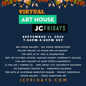 BroadwayWorld: Art House Announces Lineup For Virtual JC Fridays On September 11, 2020