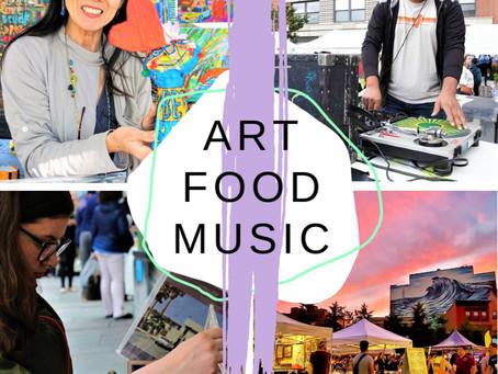 Sept. 2019 ARTIST & MAKER MARKET at Grove St. Plaza