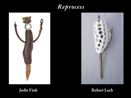 """Dec. 2019 FINE ARTS GALLERY at ST. PETERS UNIVERSITY presents """"Reprocess: Two Person exhibition"""""""