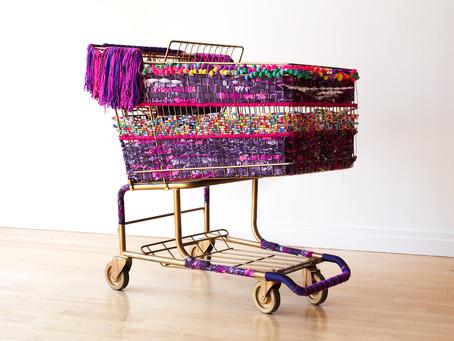 Theda Sandiford Art presents Emotional Baggage Carts