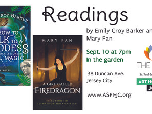 Arts at St. Paul & Incarnation: Readings by Local Writers