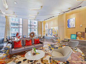 Panepinto Fine Art at Hilton's newest boutique hotel, Canopy by Hilton.