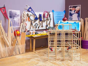 Dot Paolo: The Monkey Bars and the Crow at The Fine Arts Gallery at St. Peter's University