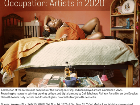 SMUSH Gallery: Occupation: Artists in 2020 - Curator's Tour