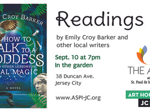 Arts at St. Paul & Incarnation: Readings by Emily Croy Barker & other local writers