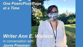 Ann E. Wallace, Writer: Writing My COVID Story, One Poem/Post/Page at a Time
