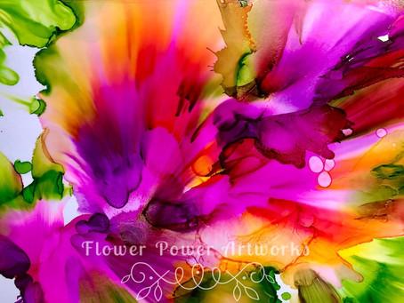 Flower Power Artworks by Denise