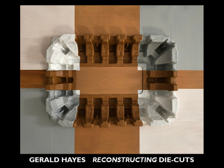 Fine Arts Gallery at St. Peters University: Gerald Hayes Reconstructing Die-Cuts