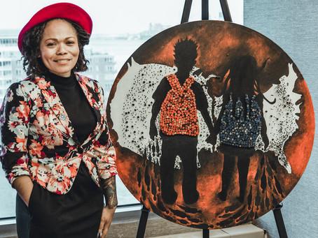 Danielle Scott, Art Fair 14C resident artist