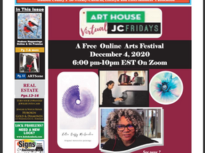 RiverView Observer:Art House Productions Announces Lineup for Virtual JC Fridays on December 4, 2020