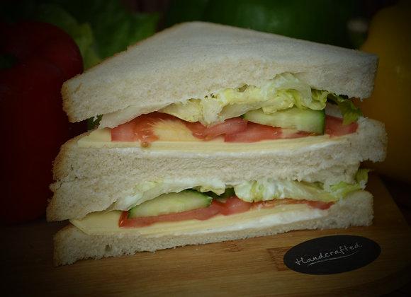 Vegan Cheese Salad