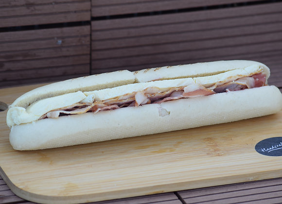 Smoked Bacon, Brie and Cranberry Grilled Panini
