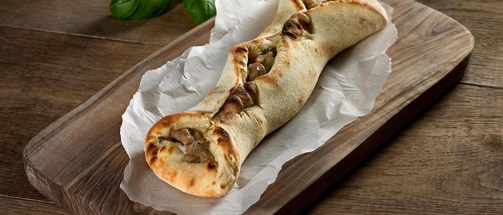 Italian Sausage & Mushroom Pizza Twist