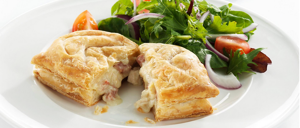 Chicken & Ham Savoury Slice