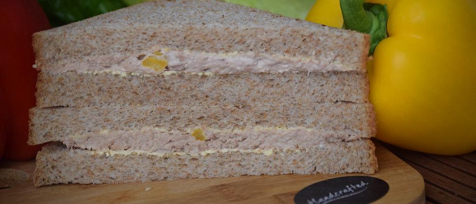 Tuna Sweetcorn on Wholemeal