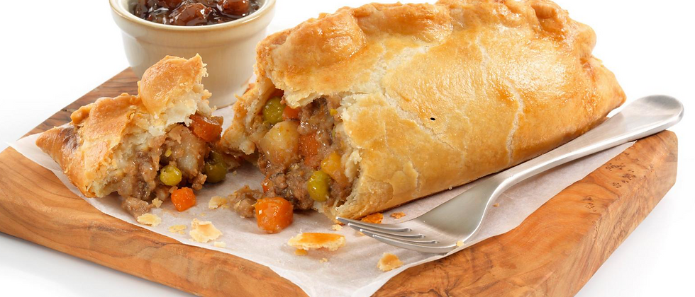 British Beef and Vegetable Pasty