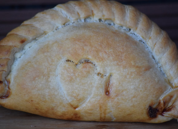 Proper Cornish Pork and Apple Pasty