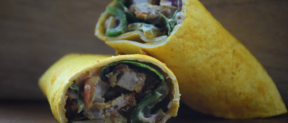 Peri-Peri Chicken Salad Wrap