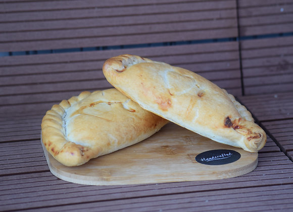 Proper Cornish Cheese and Onion Pasty