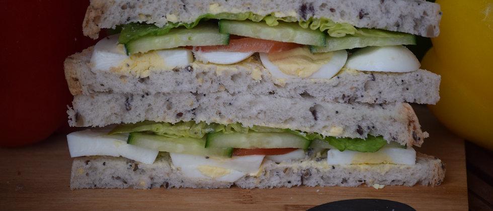 Gluten Free Sliced Egg Salad (s&c)