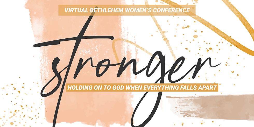 Stronger Virtual Women's Conference 2020